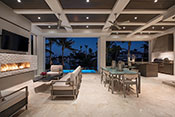 Aqualane Shores Contemporary Patio