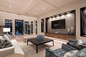 Aqualane Shores Contemporary Living Room