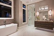 Aqualane Shores Contemporary Bath