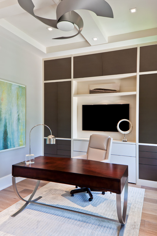 Classic Contemporary Den Office