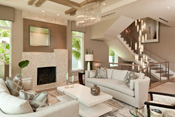 Classic Contemporary Living Room