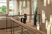 Classic Contemporary Stair Railing