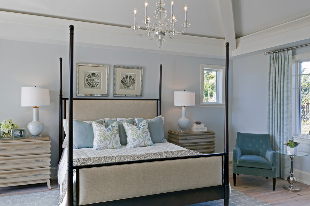 Coastal Contemporary Bedroom