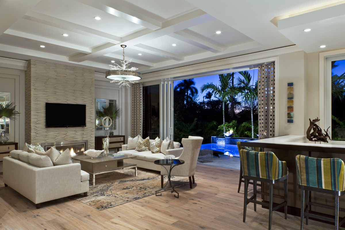 Coastal Contemporary Great Room