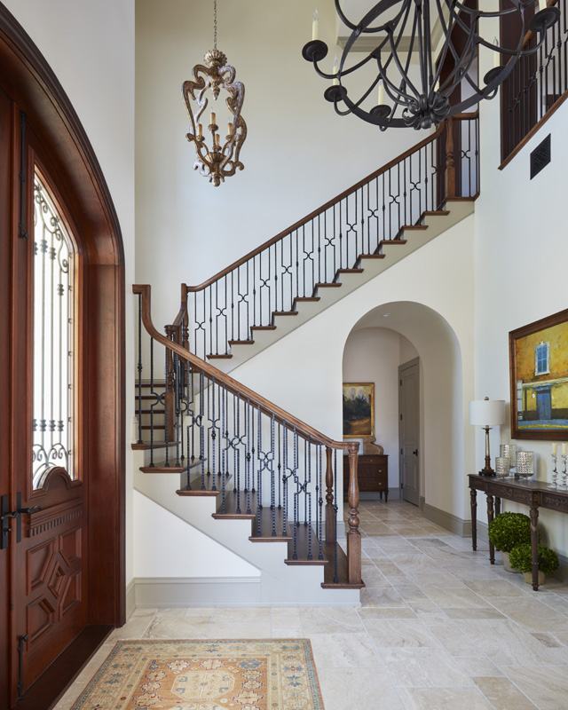 Gulfshore Traditional Staircase