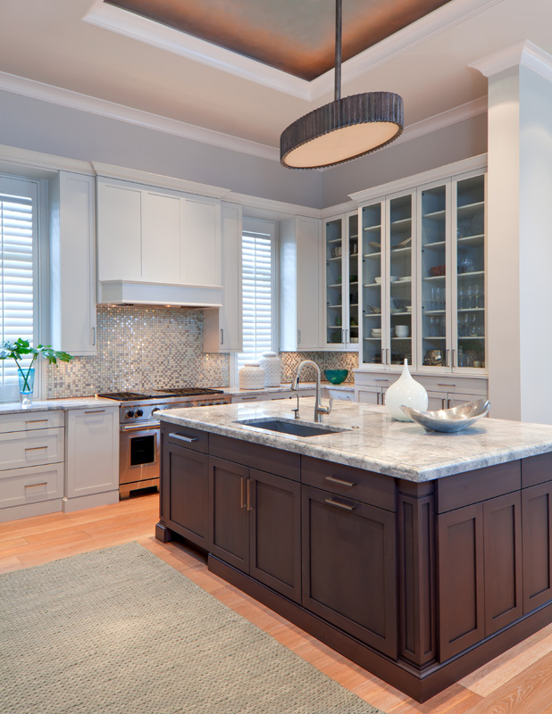 Mediterra Naples Transitional Open Concept Kitchen