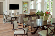 Mediterra Naples Transitional Dining Room