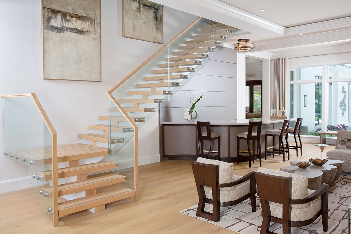 Classic Contemporary Foyer