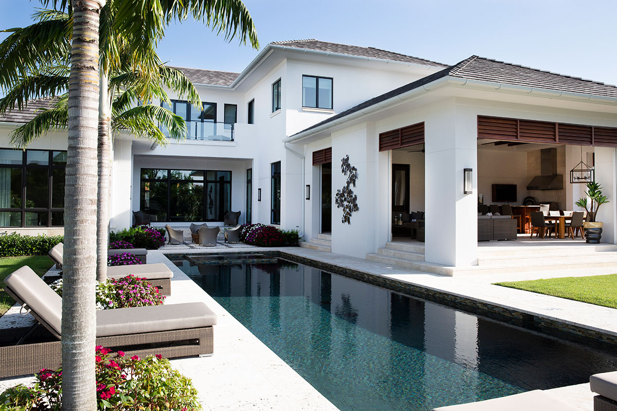 Classic Contemporary Pool
