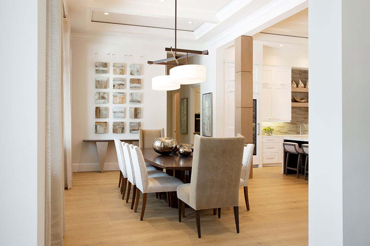 Classic Contemporary Dining