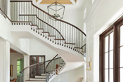 Old Naples Transitional Entry Staircase