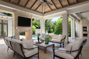 Old Naples Transitional Loggia