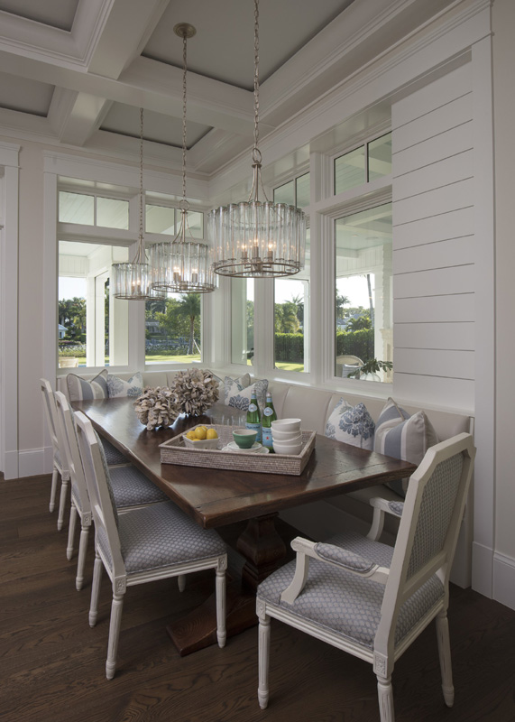 Port Royal Coastal Traditional Dining Room